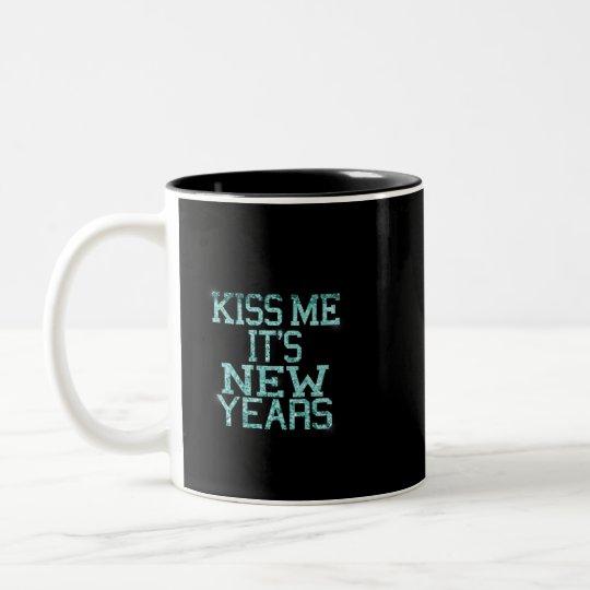 Happy New Year's Two Tone Mug