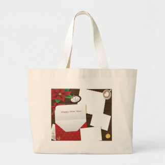 Happy New Year's with Holly Add Photos Tote Bag