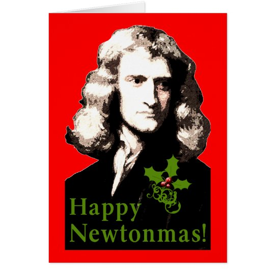 Happy Newtonmas Holiday Card