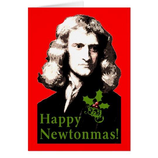 Happy Newtonmas Holiday Card