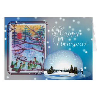 Happy , Newyear Card