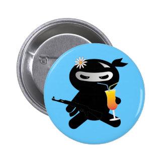 Happy Ninja Pinback Buttons