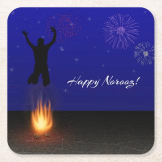 Happy Norooz Chahar-Shanbeh-Suri Paper Coaster