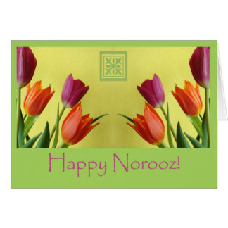 Happy Norooz, Persian New Year Card