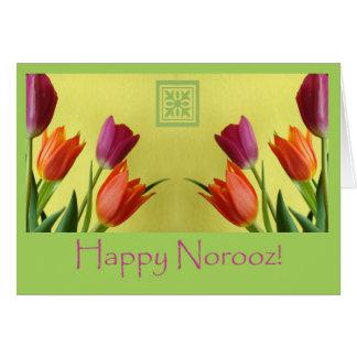 Happy Norooz, Persian New Year Greeting Card