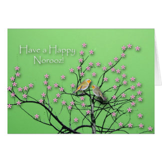 Happy Norooz, Persian New Year Greeting Card