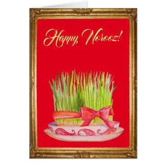 Happy Norooz Sabzeh Card