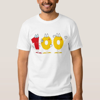 Happy Number 100 Tee Shirts