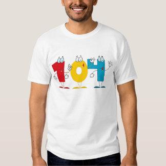 Happy Number 104 Tshirts