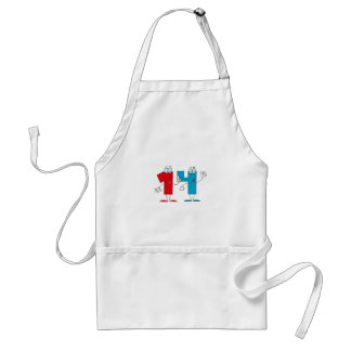 Happy Number 14 Standard Apron