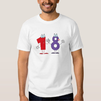 Happy Number 18 T Shirts