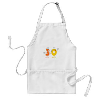 Happy Number 30 Standard Apron