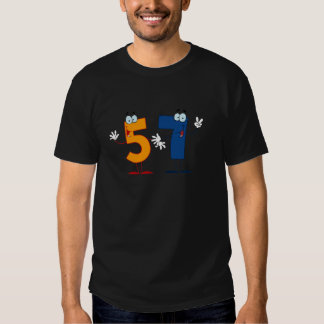 Happy Number 57 T-shirts