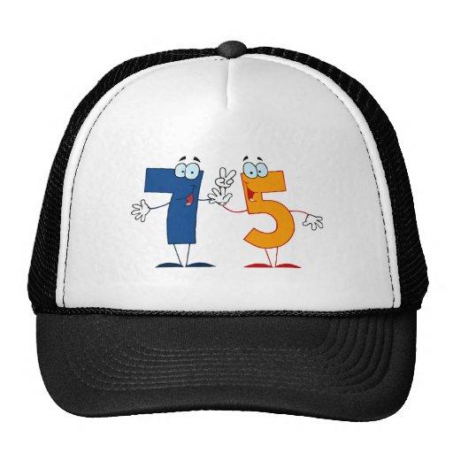 Happy Number 75 Trucker Hat