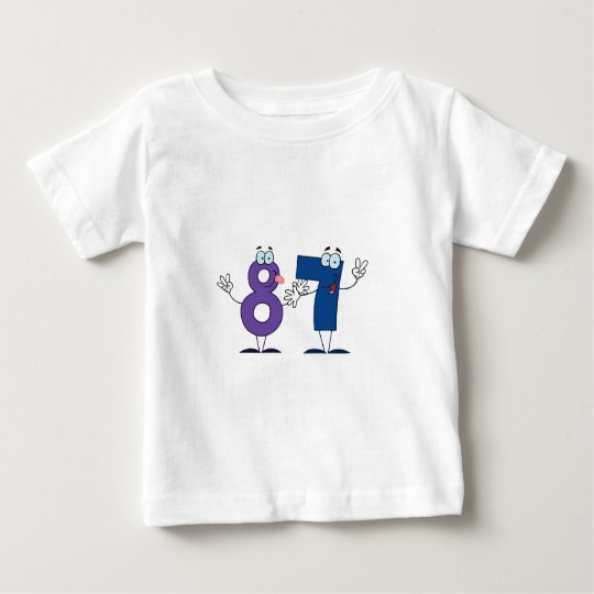 Happy Number 87 Baby T-Shirt