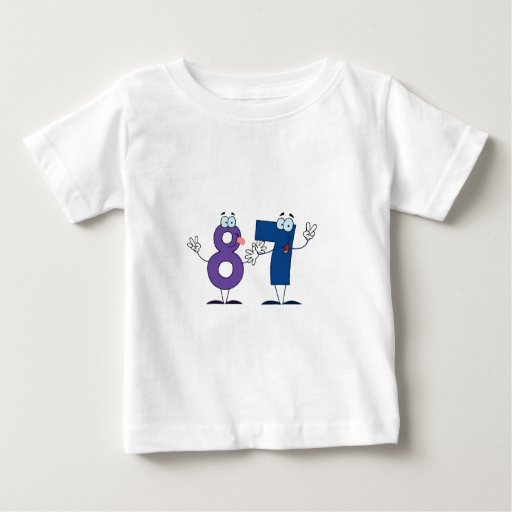 Happy Number 87 Tee Shirts