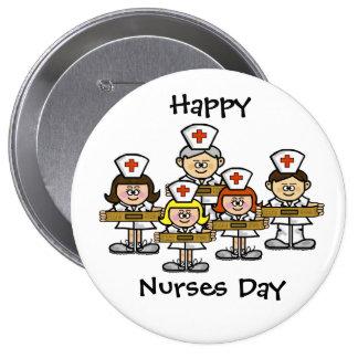 Happy Nurses Day Button