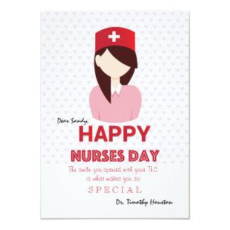 Happy Nurses Day Card 13 Cm X 18 Cm Invitation Card