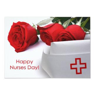 Happy Nurses Day Custom Flat Cards 13 Cm X 18 Cm Invitation Card