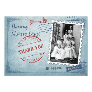 Happy Nurses Day Custom Flat Greeting Cards 13 Cm X 18 Cm Invitation Card