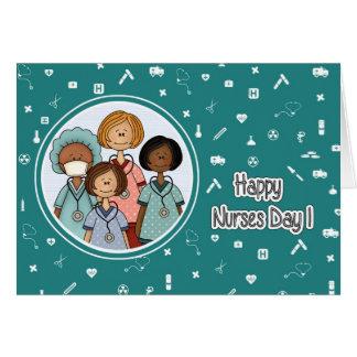 Happy Nurses Day. Custom Greeting Cards