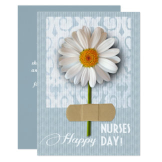 Happy Nurses Day. Customizable Greeting Cards 13 Cm X 18 Cm Invitation Card