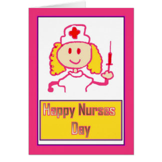 Happy Nurses Day for caring nurse Card