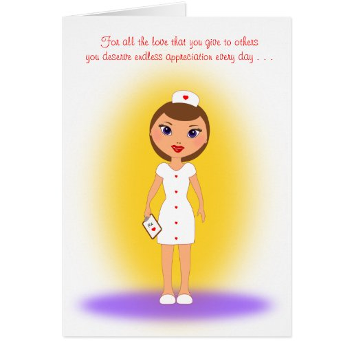 Happy Nurses Day to a Loving and Caring Nurse Card