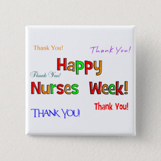 Happy Nurses Week Buttons