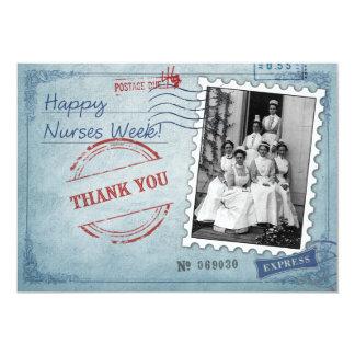 Happy Nurses Week Custom Flat Greeting Cards 13 Cm X 18 Cm Invitation Card