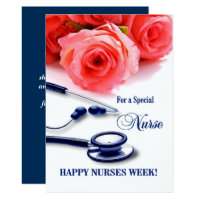 Nurses week cards invitations zazzle happy nurses week customisable greeting cards m4hsunfo