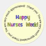 Happy Nurses Week Gifts Stickers