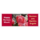 Happy Nurses Week! posters Personalise Angels