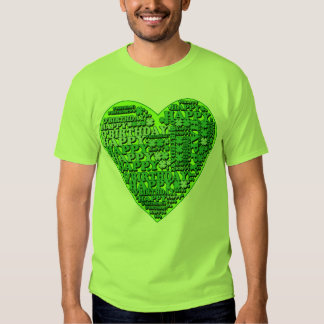 Happy O'Birthday with Heart T shirts and Gifts