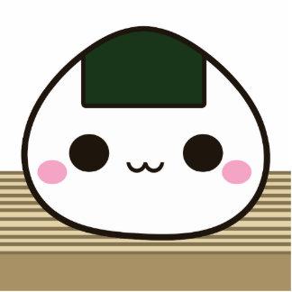 Happy Onigiri Photo Cut Out