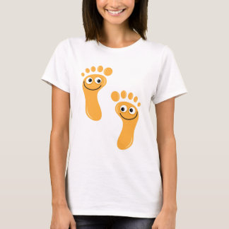 Happy Orange Feet T-Shirt