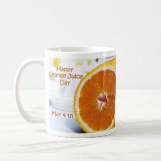 Happy Orange Juice Day Mug May 4