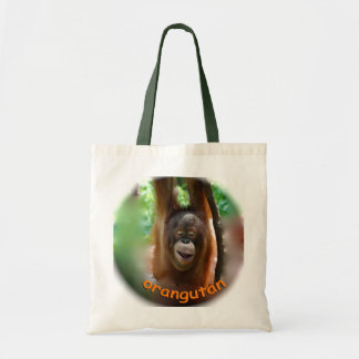 Happy Orangutan Tote Bag