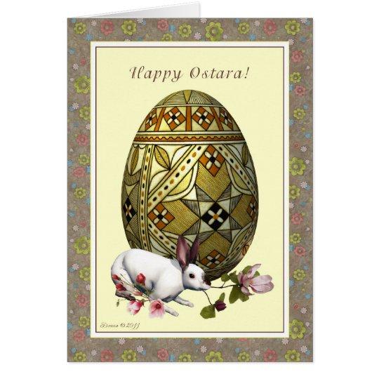 Happy Ostara - Vernal Equinox - Egg Hare