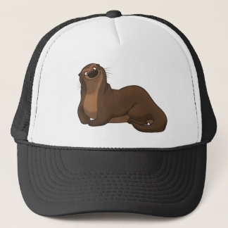 Happy Otter Hat