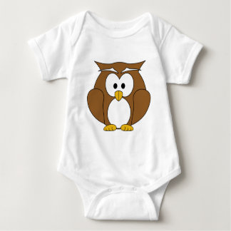 Happy Owl Baby Bodysuit