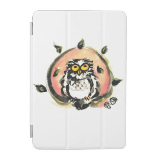 Happy owl/the wax which is wiped iPad mini cover