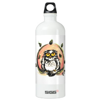 Happy owl/the wax which is wiped SIGG traveller 1.0L water bottle
