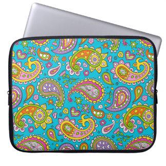 Happy Paisley Laptop Sleeve