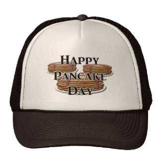 Happy Pancake Day Cap