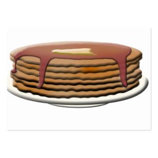 Happy Pancake Day - Pancake Stack Business Card Template