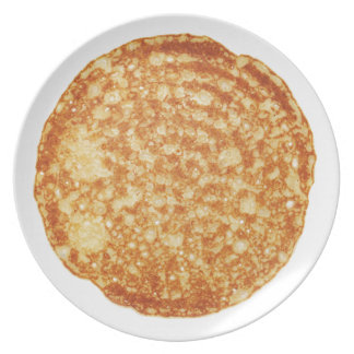 Happy Pancake Day! Party Plates
