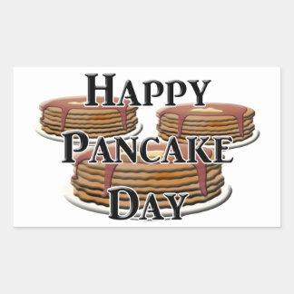 Happy  Pancake Day Sticker