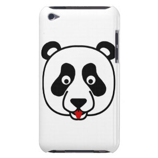 Happy Panda Face Barely There iPod Cover