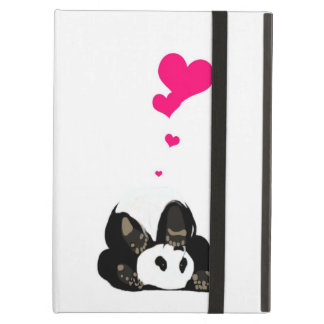 Happy panda iPad air cases